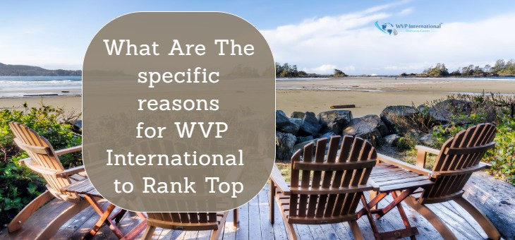 What Are The Specific Reasons For WVP International To Rank Top