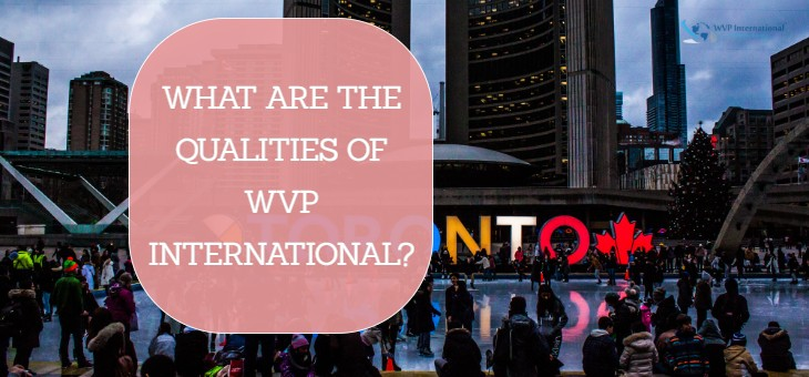 What are the qualities of WVP INTERNATIONAL?